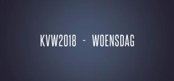 KVW2018 – Woensdag