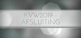 KVW2019 – AFSLUITING
