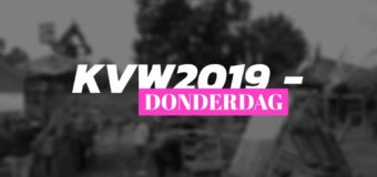 KVW2019 – DONDERDAG