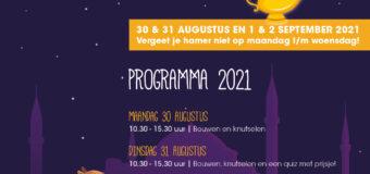 Programma Kindervakantieweek 2021